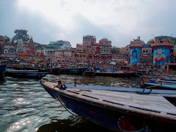 Dashashwamedh Ghat in Varanasi